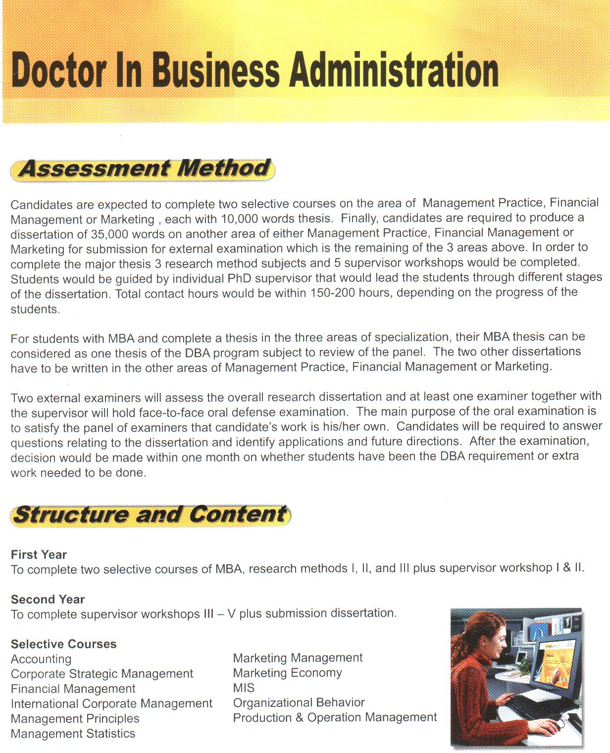 doctor of business administration thesis 4 wwwanaheimedu doctor of business administration from the dean of the akio morita school of business welcome to the akio morita school of business.